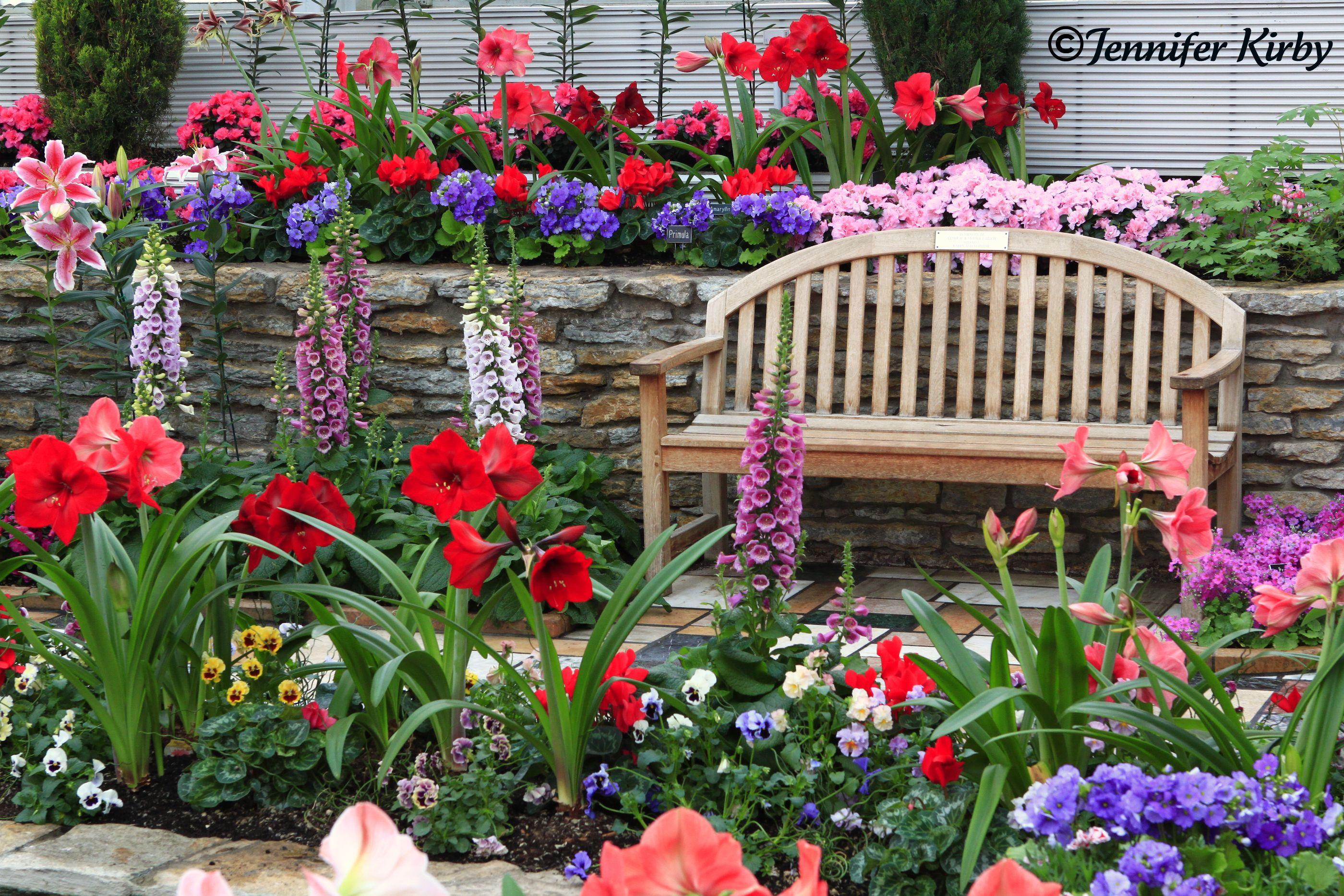 Spring Flower Garden Flowers And Gardens Pinterest
