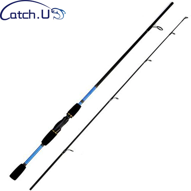 Catch U 1 8m Fishing Rods Carbon Spinning Fishing Pole Spinning Fishing Rod 2 Section Lure Casting Pole Fishing Pole Fishing Rod Ice Fishing Rods