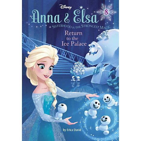 Anna Elsa Return To The Ice Palace Book