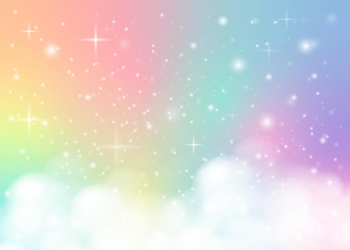 Download rainbow pastel background for free