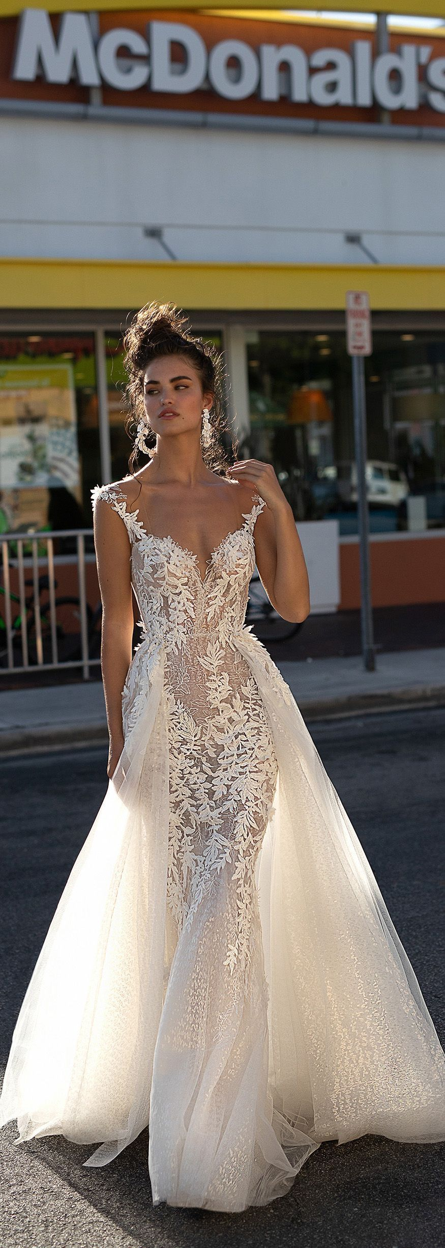 The bustle wedding dresses   By Berta at The Bustle Del Mar  Bustle Gowns  Pinterest