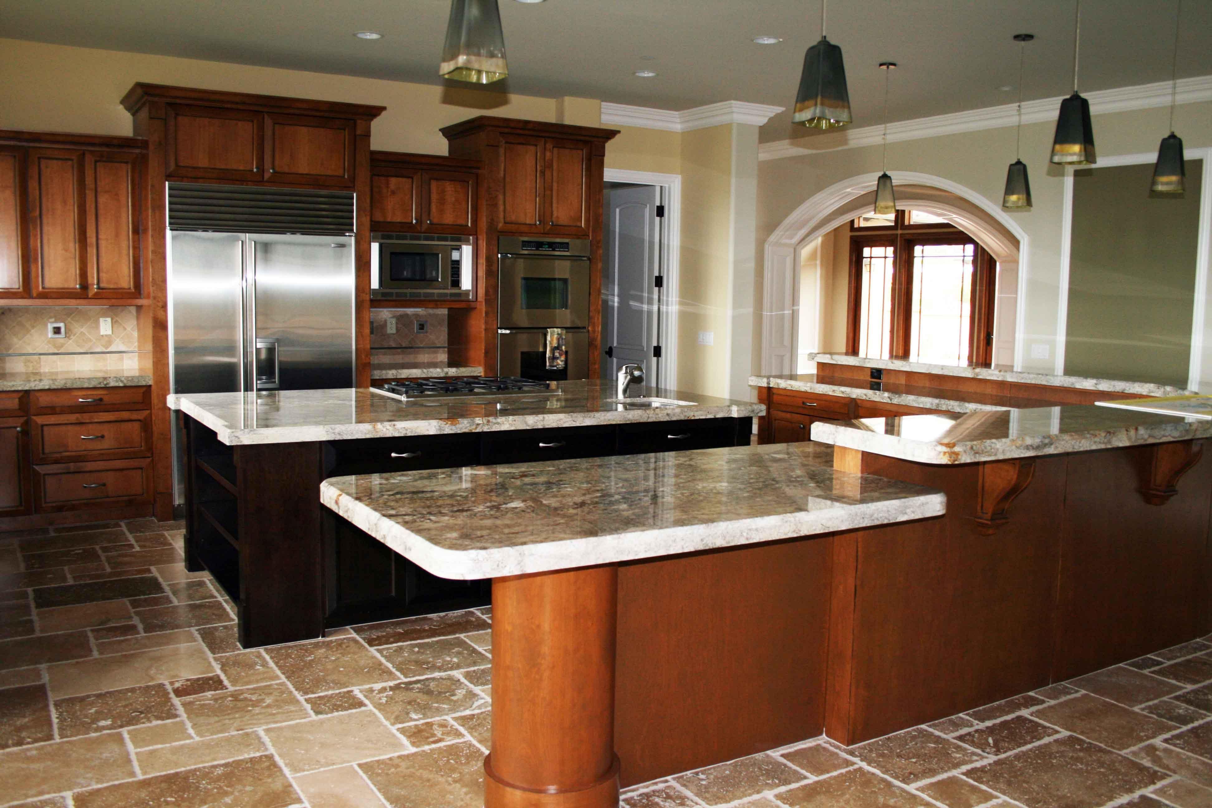 image of rustic kitchen island ideas - Rustic Kitchen Island Ideas