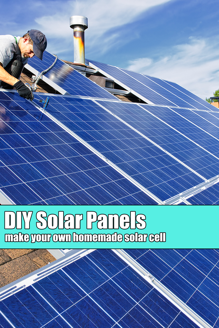 How To Make A Solar Cell Homemade Solar Panel Diy Craft Space Solar Panels Solar Shingles Best Solar Panels