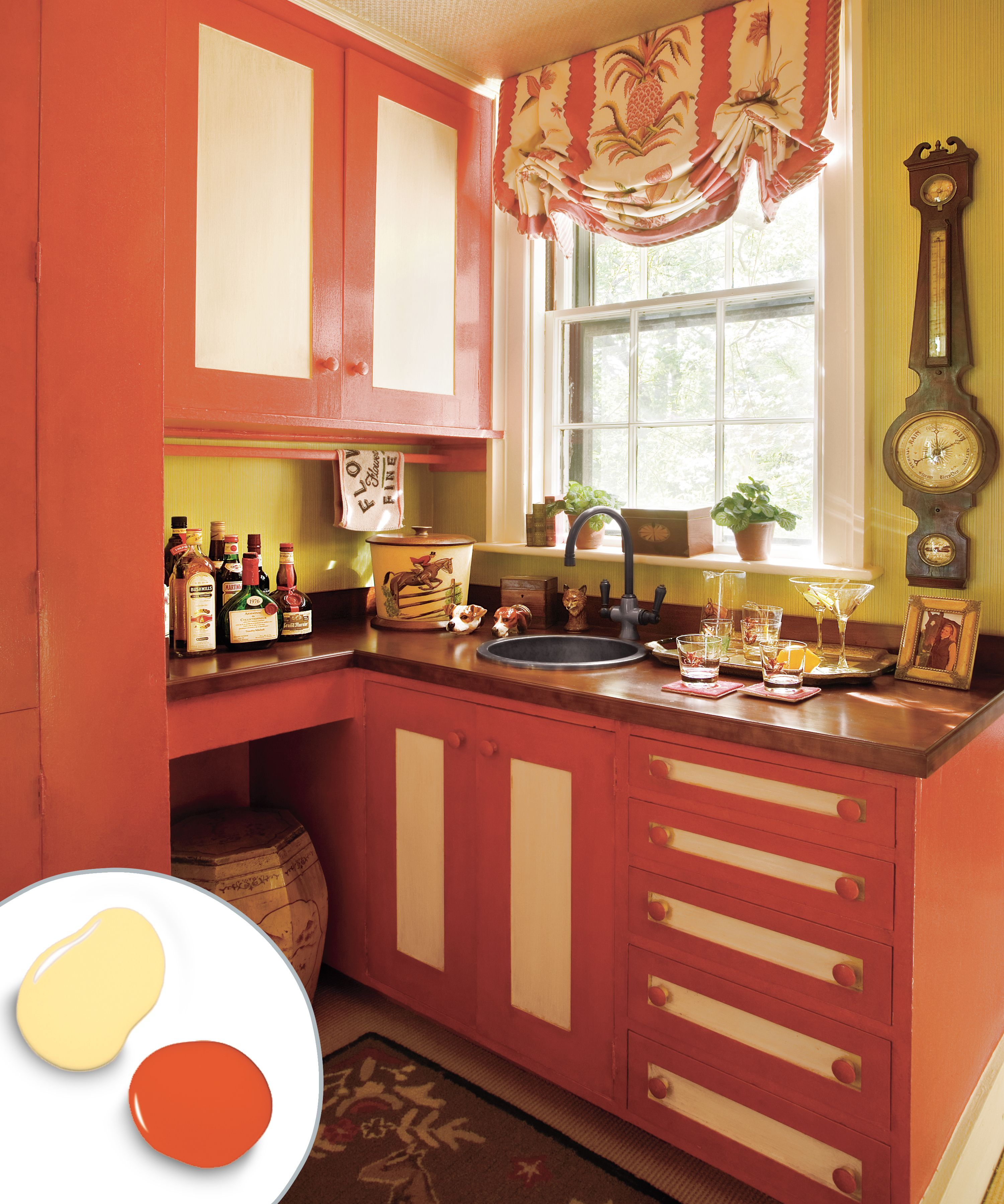 12 kitchen cabinet color combos that really cook kitchen rh pinterest com
