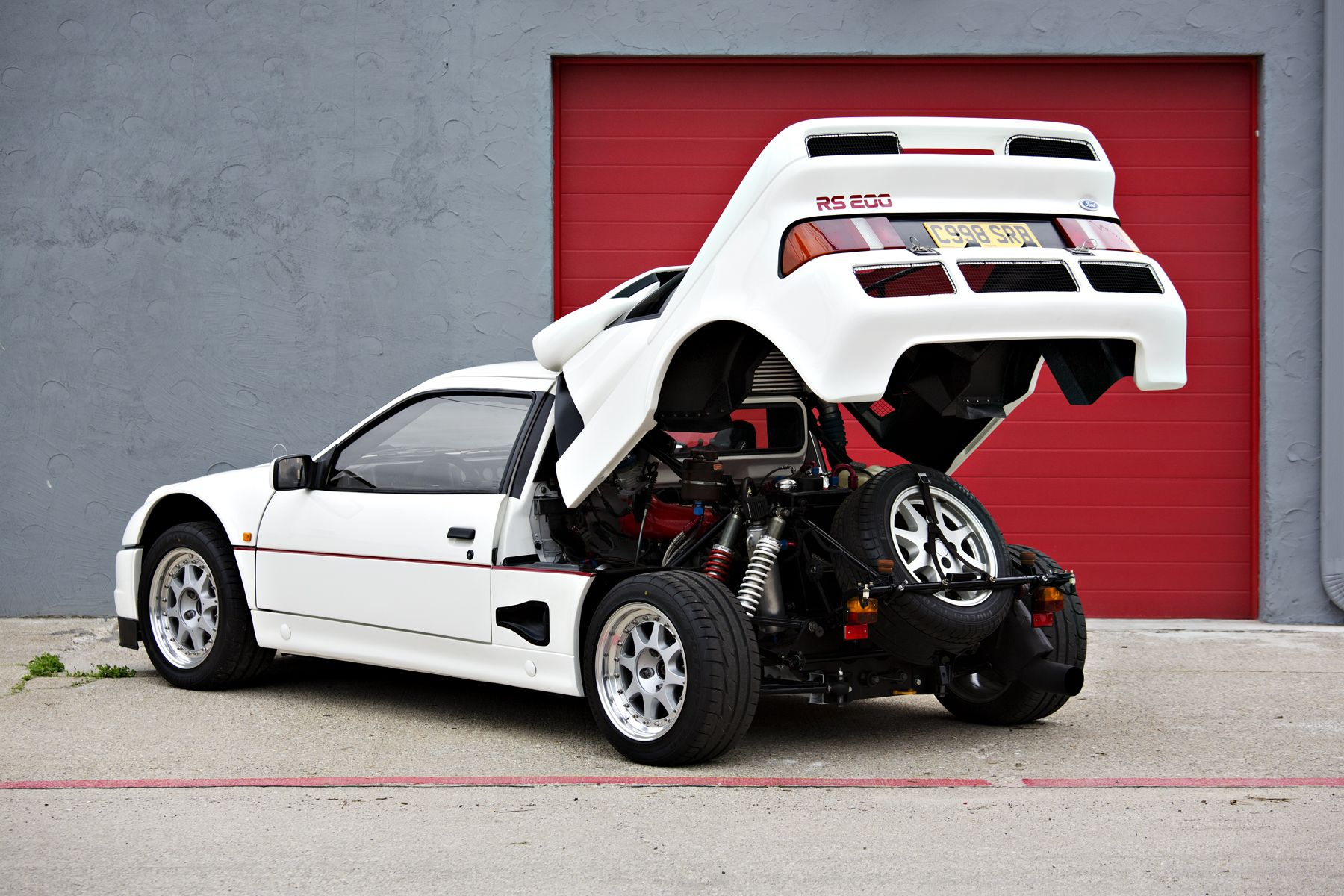 One Of 24 Built By Ford 1986 Rs200 Evolution Heads To Auc Rally