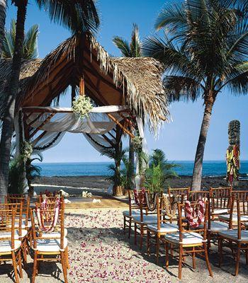 big island hawaii wedding resorts ceremony locations spas