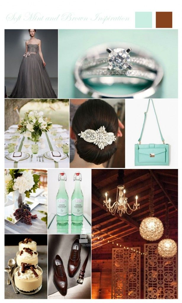 Mint Green and Brown Color Inspiration