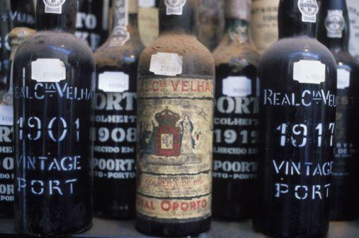 Vintage port. Real Companhia Velha