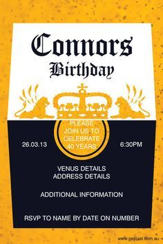 30th birthday invitation corona beer birthday invitation cheers
