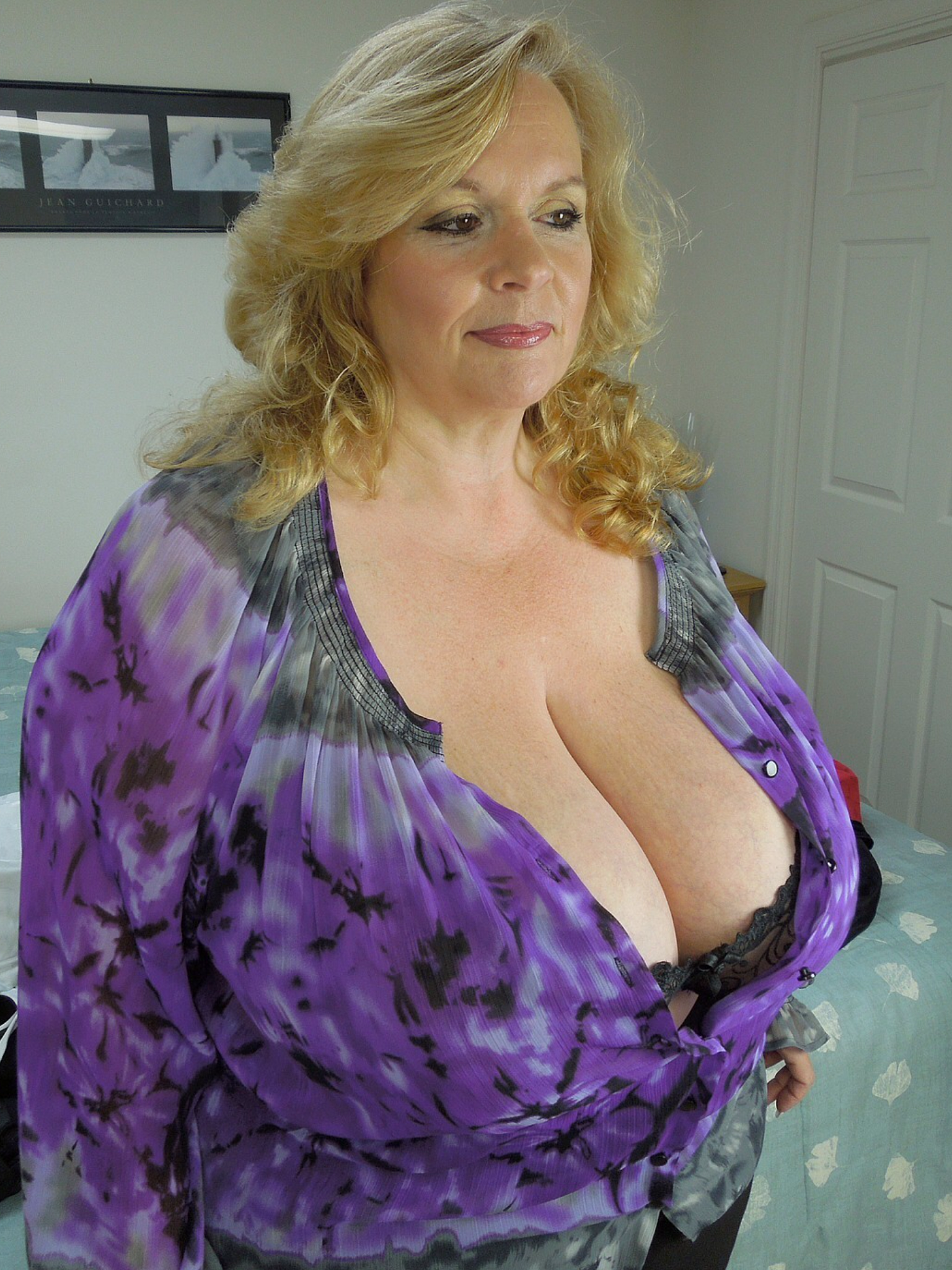 Busty granny post