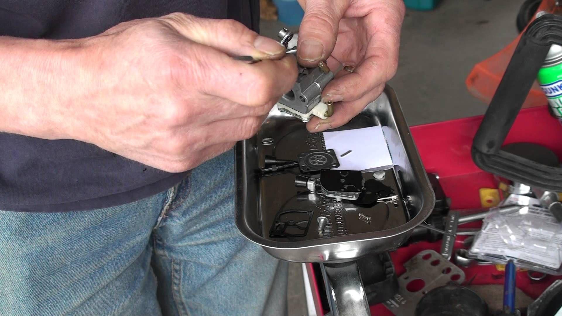 YouTube Lawn mower repair, Carbs, Repair