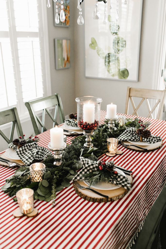 rustic glam christmas tablescape christmas christmas tablescapes rh pinterest ch