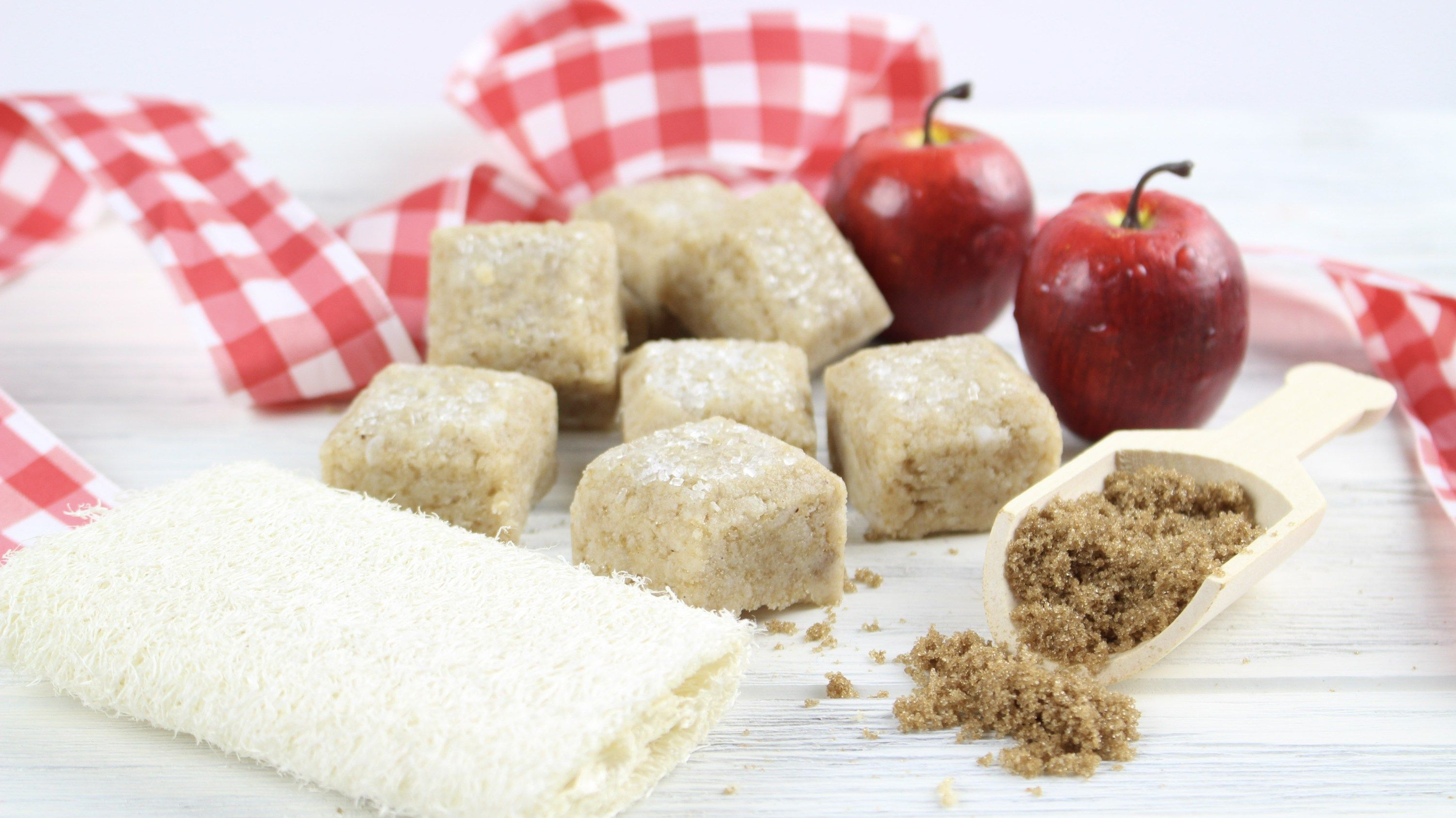 homemade diy apple pie sugar scrub cubes natural beauty tips rh pinterest com