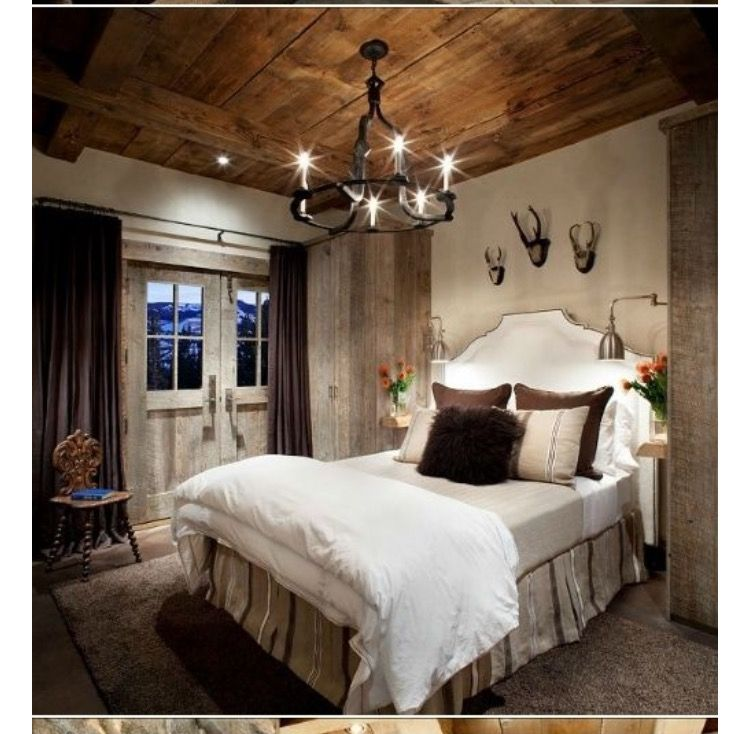 Cozy Rustic Bedroom Interior Designs For This