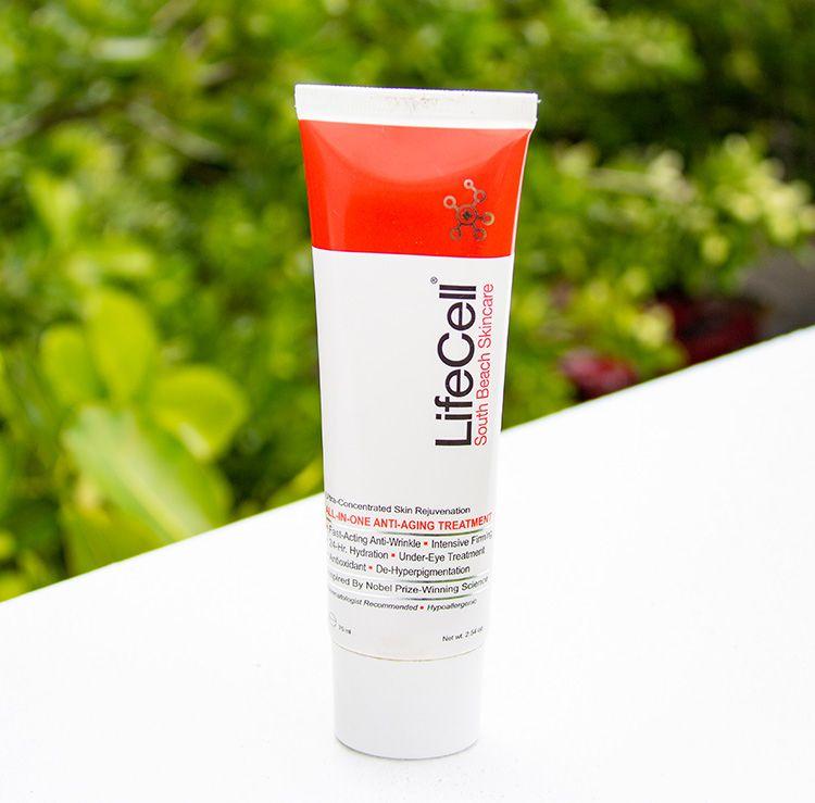 Lifecell South Beach Skincare Skin Care Skin Cream Anti Aging Beach Skincare