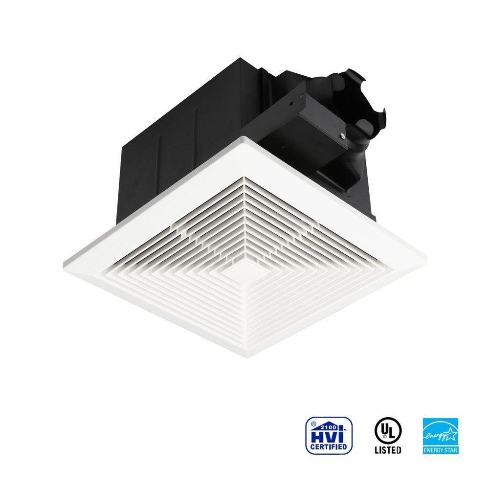 ultra quiet ventilation fan bathroom exhaust fan 70cfm 0 3sone rh pinterest co uk