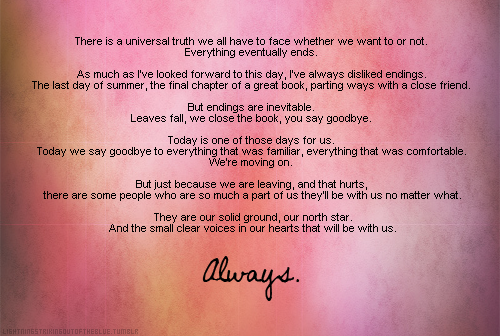 Alexis CastleS Graduation Speech From Always Castle  X