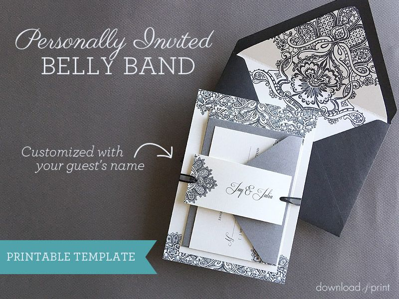 Personally Invited DIY Belly Band Download