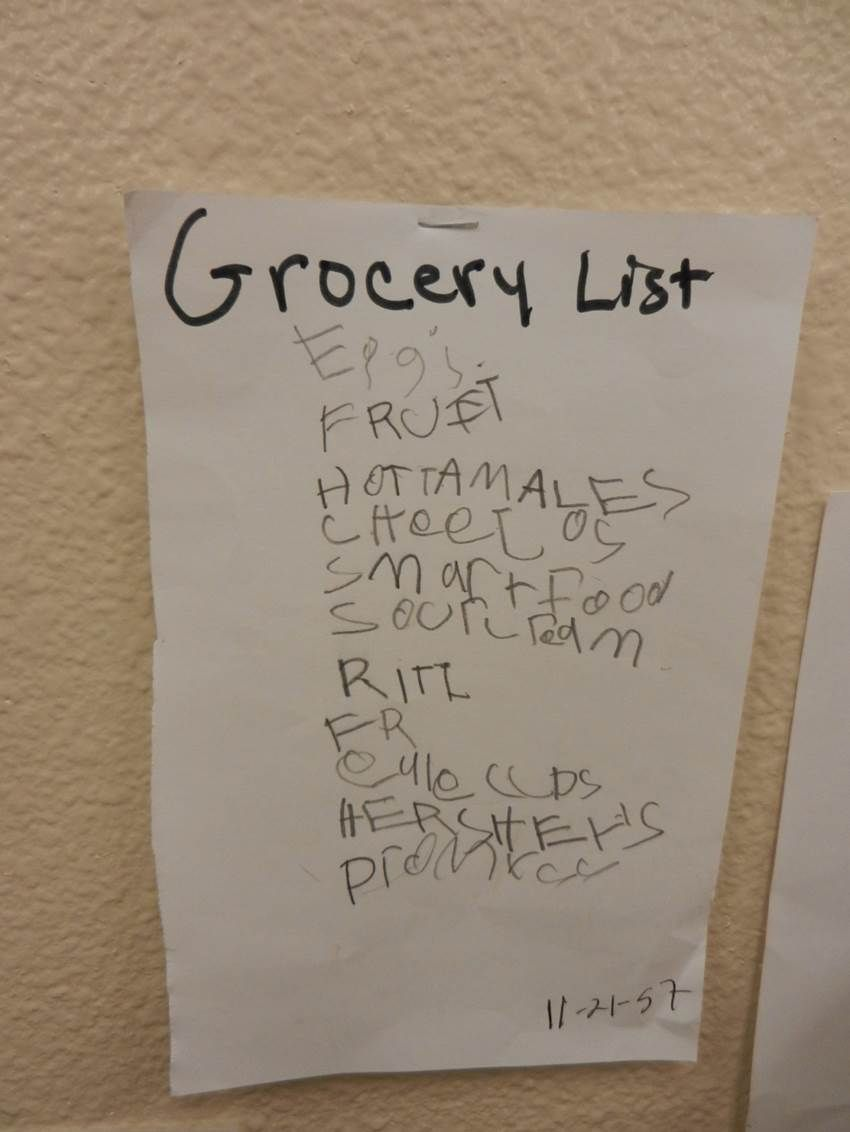 grocery list book grocery list book