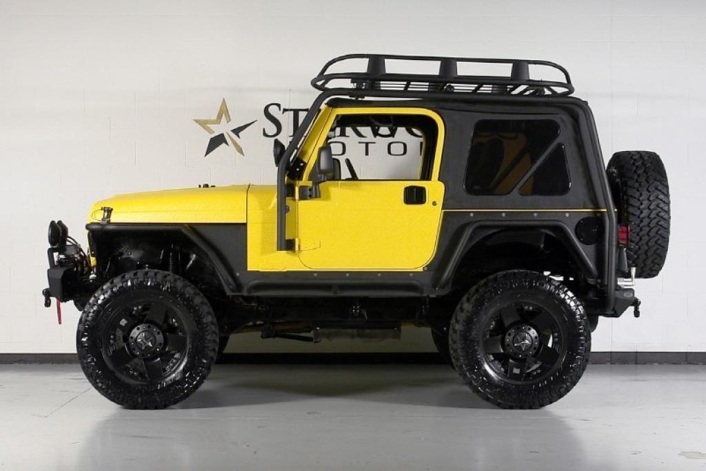 Customized 2006 Jeep Wrangler Sport Side View