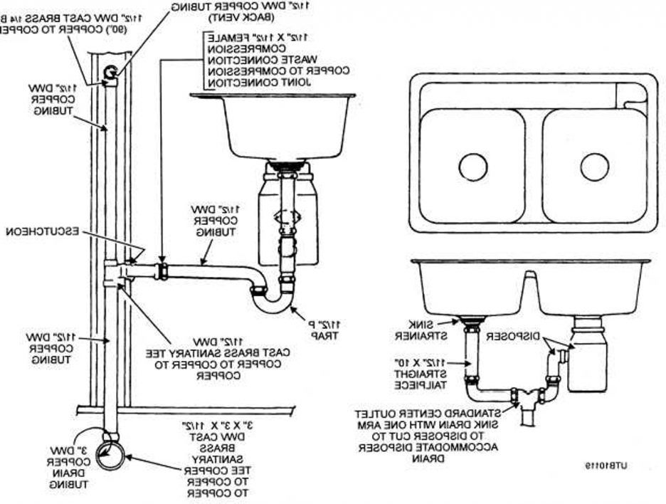 Bathroom Sink Bathroom Sink Drain Plumbing Diagram Kitchen Parts