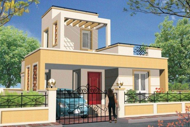 fachadas de casas con rejas sencillas pero bonitas casas