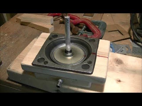 How to build a diy diaphragm for a powerful stirling engine how to build a diy diaphragm for a powerful stirling engine youtube ccuart Gallery