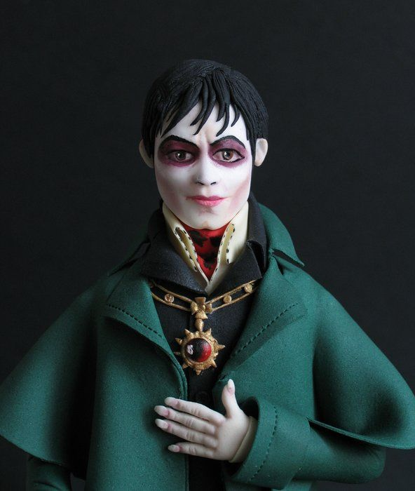 Dark Shadows-Barnabas Collins - by Karla (Sweet K) @ CakesDecor.com - cake decorating website