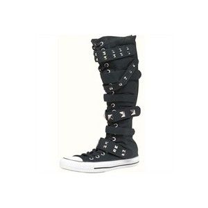 converse chuck taylor knee high boots