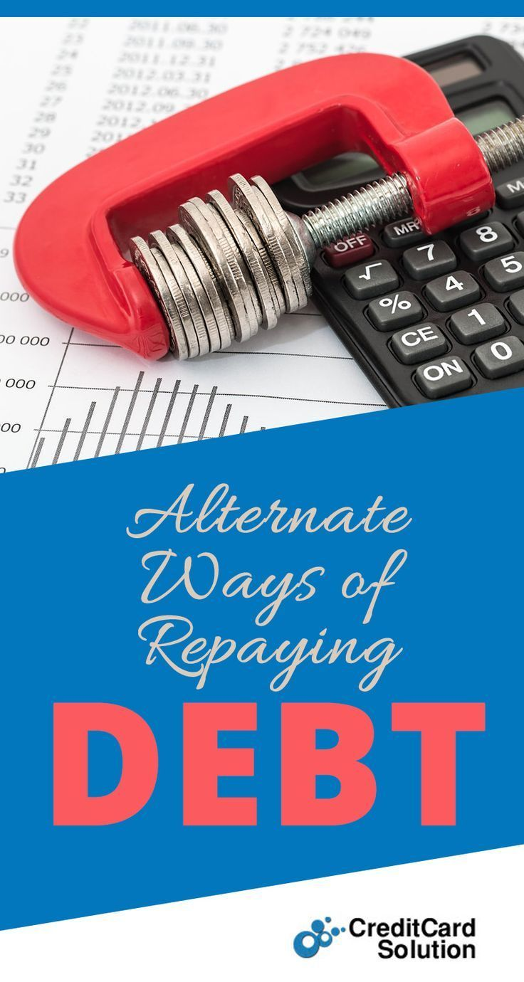 Alternate Ways of Repaying Debt Small business credit