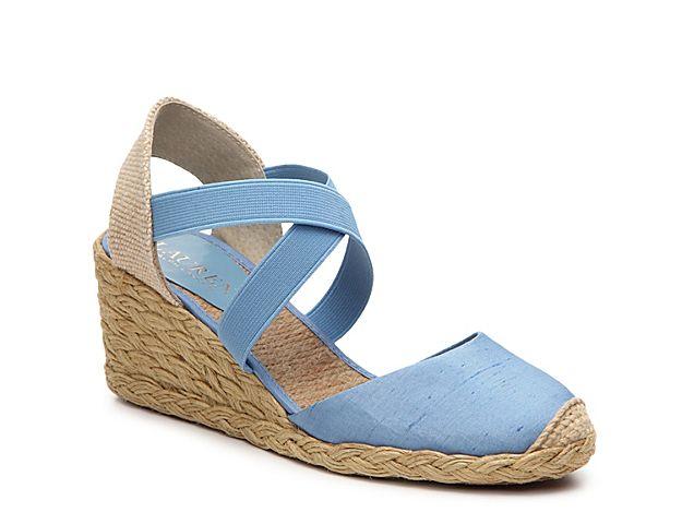 Women Casandra Wedge Sandal -Light blue