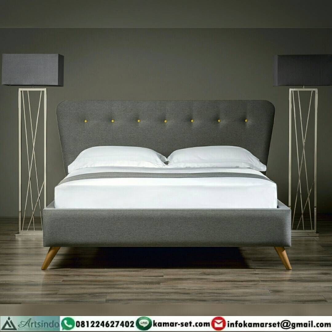 Retro Bedroom Elegan tempat tidur retro bungkus