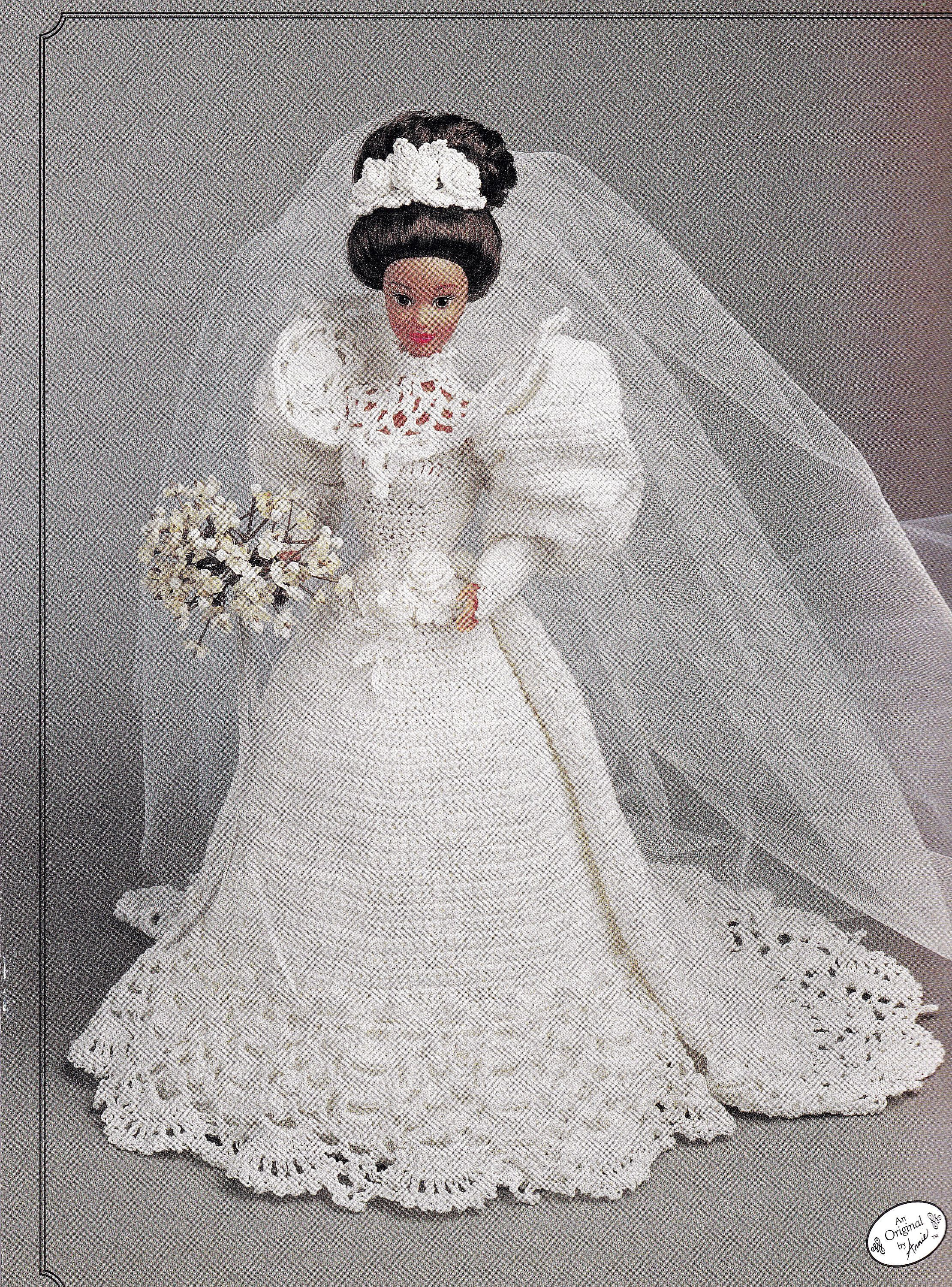 Annieus attic the gibson girl bride doll gown for
