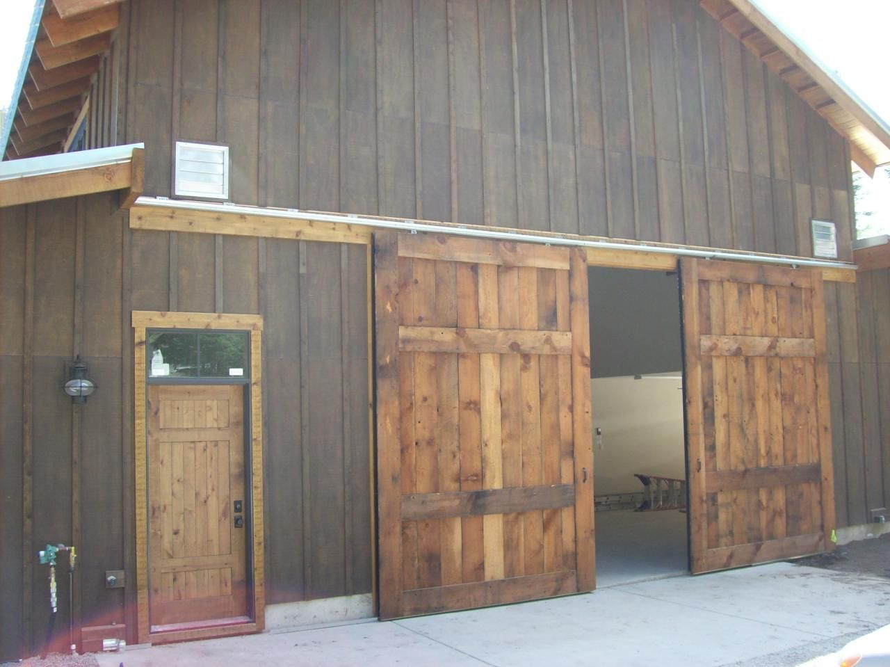 1st Impressions More Than Doors - Lucky 4 Ranch & 1st Impressions More Than Doors - Lucky 4 Ranch   Rustic knotty ...