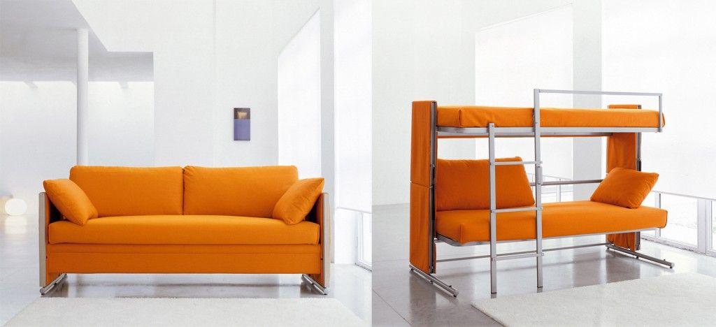 Divani letto per risparmiare spazio Divano letto a