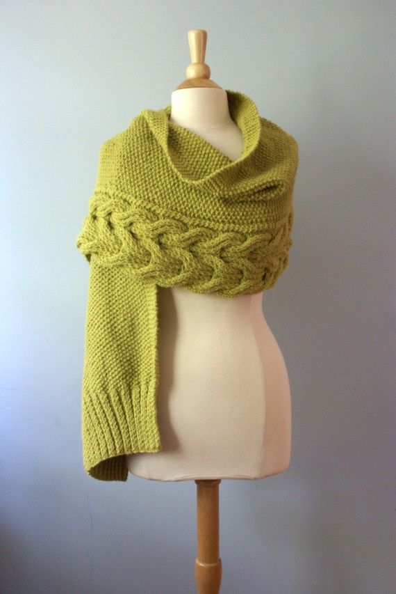 Aspen Wrap stricken Muster sofortige PDF-Download von PreciousKnits ...