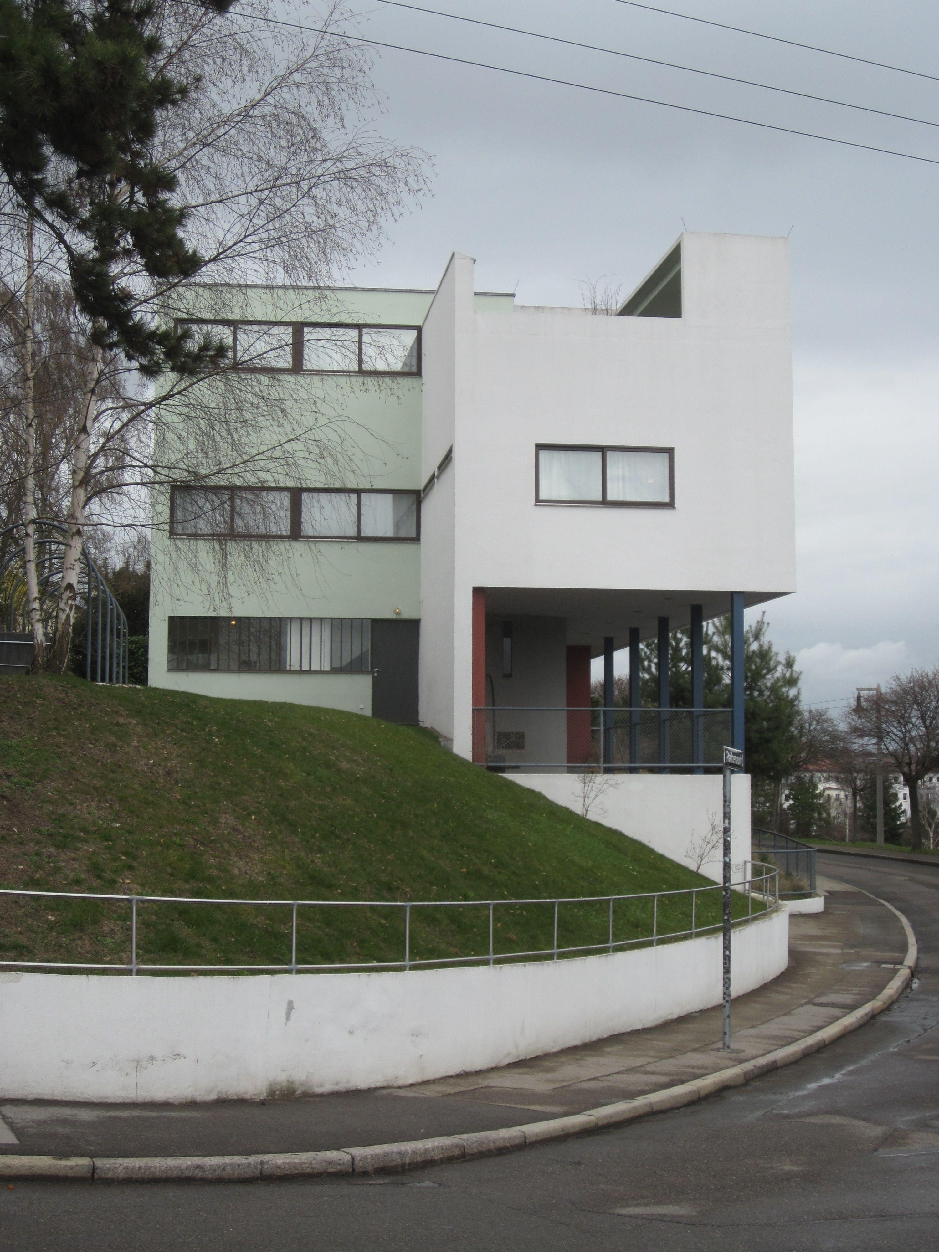Le corbusier weissenhof estate bauhaus architecture for Architecture le corbusier