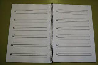 El baúl de A.L: Cuadernillos de pauta montesori