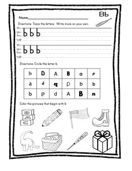 FUNtastic FUNdational Lowercase Letters Unit 1
