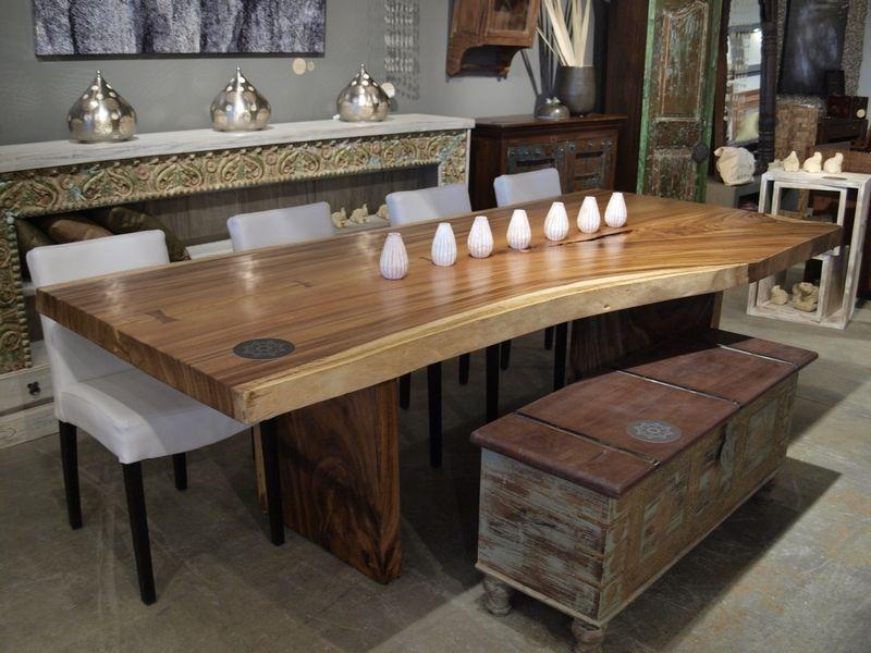 Sugar Wood Freeform Dining Table Mesas De Madera Diseno De