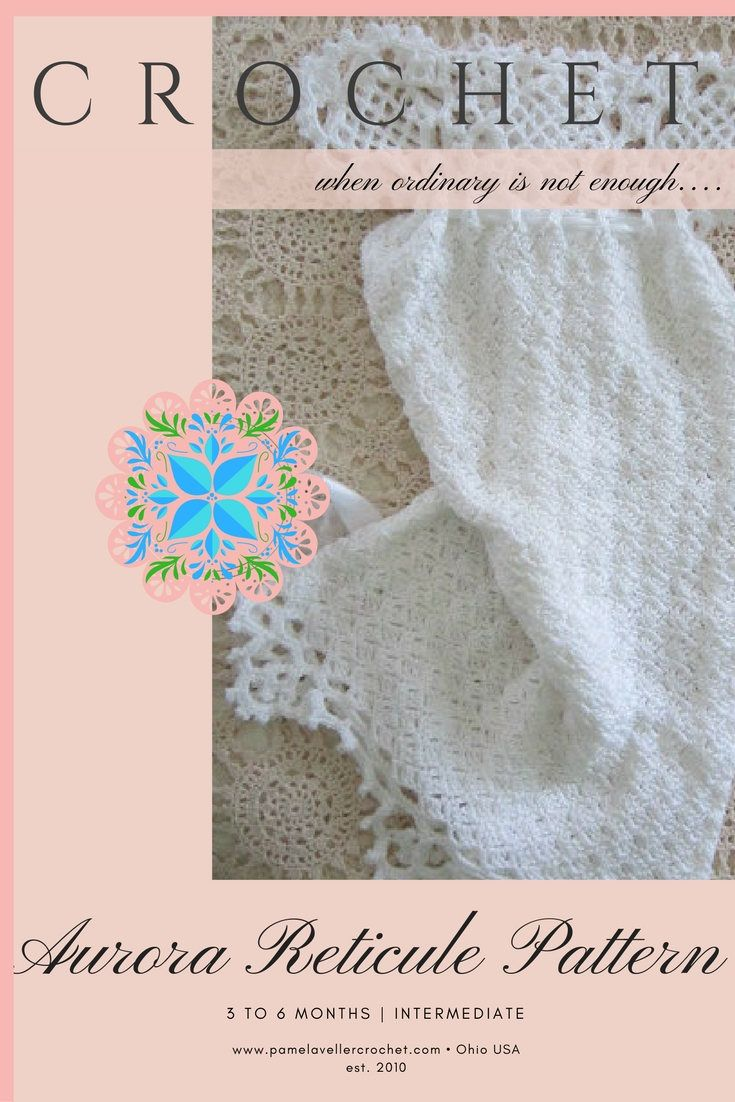 Luxury Crochet Reticule Pattern Picture Collection - Sewing Pattern ...