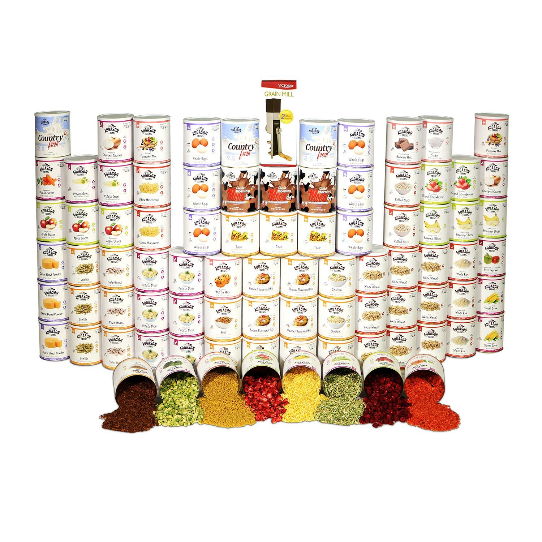 Augason farms emergency food storage kit 1 year 1 person