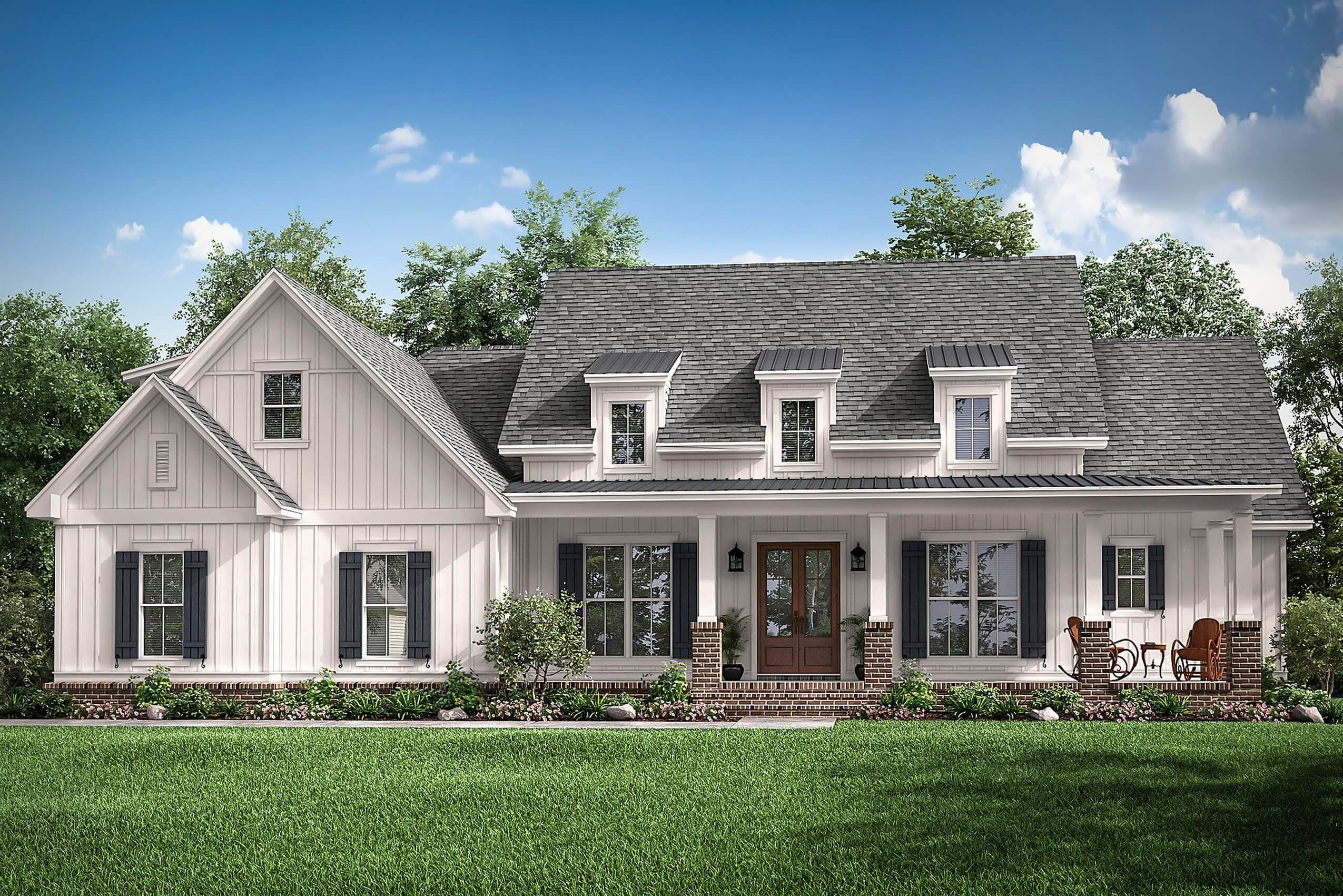 Willow Creek House Plan House Plan Zone In 2020 Farmhouse Style House Plans Modern Farmhouse Plans Farmhouse Style House