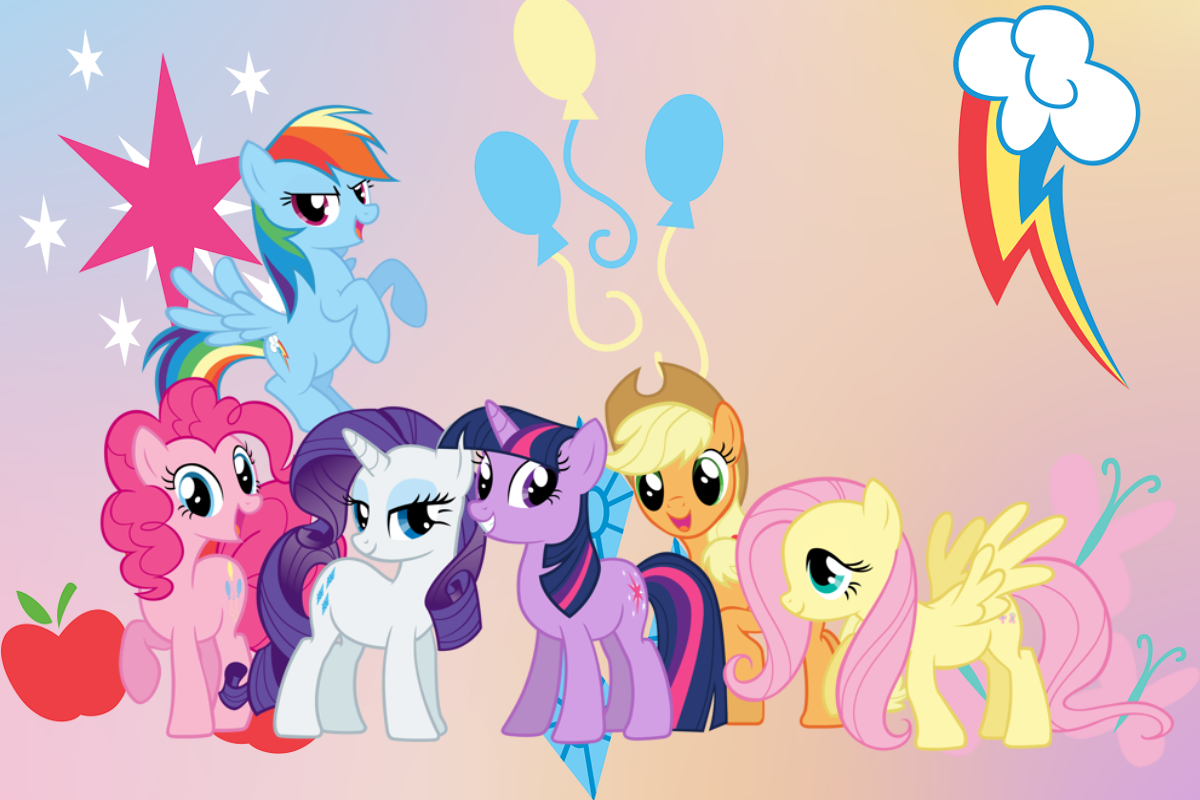 Free My Little Pony Wallpapers Wallpaper Cave Kuda Poni Poni