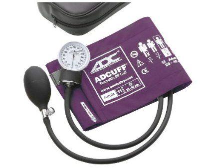 American Diagnostic Corporation Sphygmomanometer, Violet, Adult