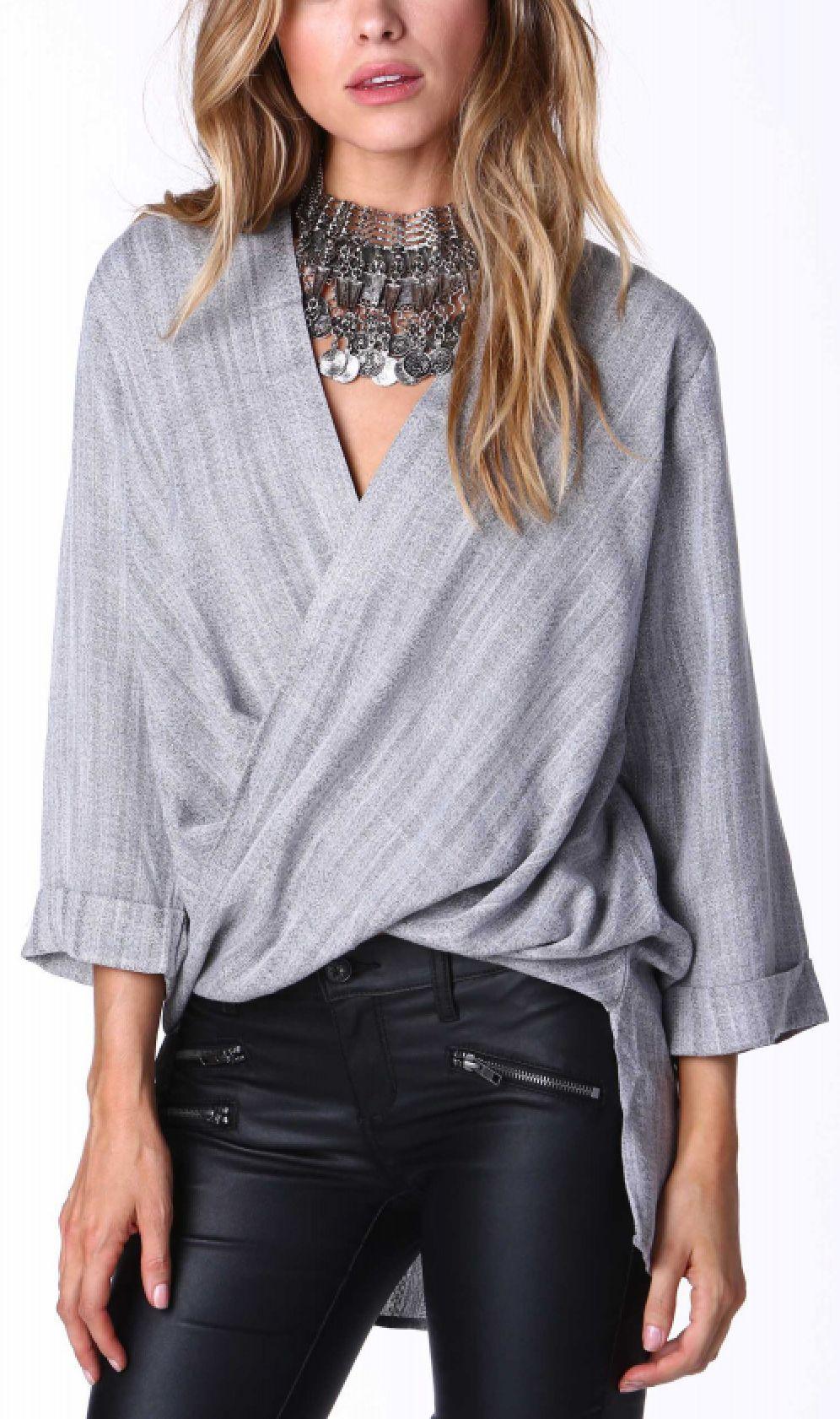 Twist blouse