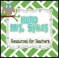 Hello Mrs. Sykes - Literacy Specialist Turned 2nd Grade Teacher secondgradesquad-com