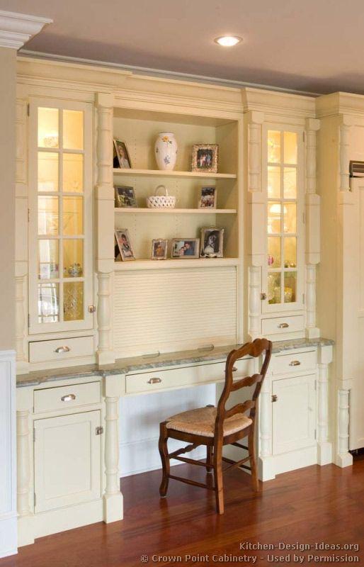 Kitchen Cabinets Ideas kitchen desk cabinets : 17 Best images about Kitchen on Pinterest | Kitchen desks ...