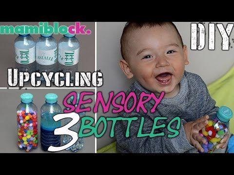 DIY Sensory Bottles   Upcycling   3 baby toys   Spielerisch