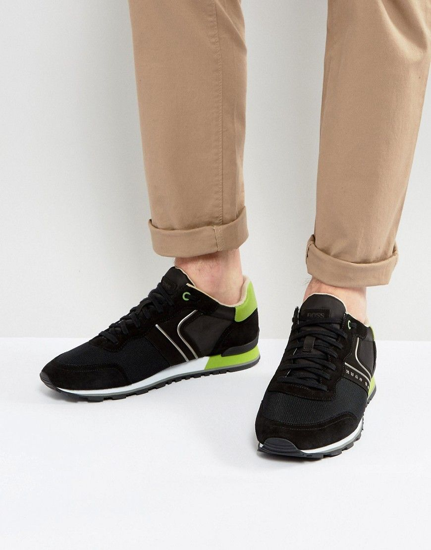 BOSS Green by Hugo Boss Suede and